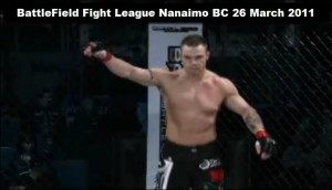 DrVie-Matt-Baker-Mixed Martial Arts BFL win 26 March 2011