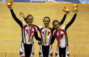 Dr Vie Laura Brown Steph Roorda Jasmin Glaesser Pan Am Games Gold Team Pursuit 2011