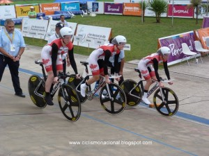 Dr. Vie Pan Am gold team pursuit 2012