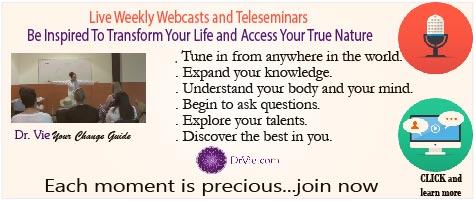 Free chapter webcasts and teles-eminars by Dr. Vie