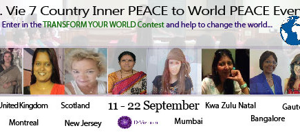 Dr. Vie PEACE talks in 7 countries