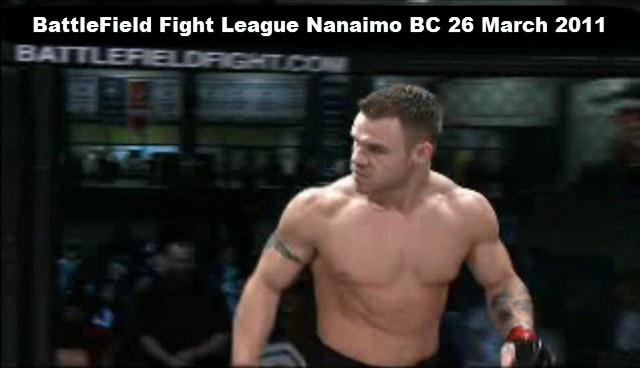 DrVie-Matt-Baker-Mixed Martial Arts BFL fight 26 March 2011