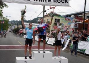 Dr Vie LR Tour de White Rock 2011 road cycling Laura Brown 3rd