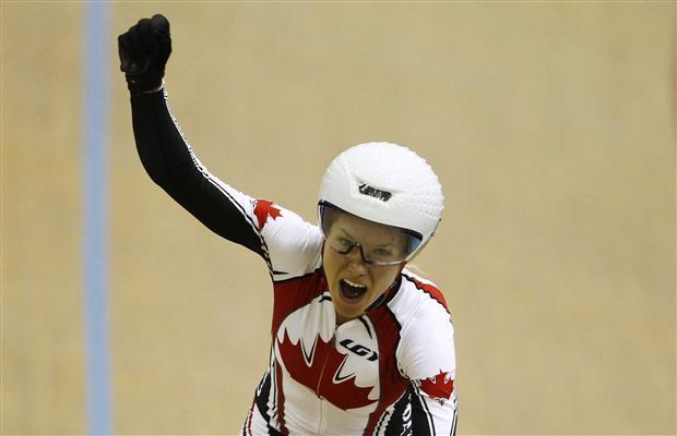 Dr Vie Jasmin Glaesser Pan Am Games Gold Womens Team Pursuit 2011
