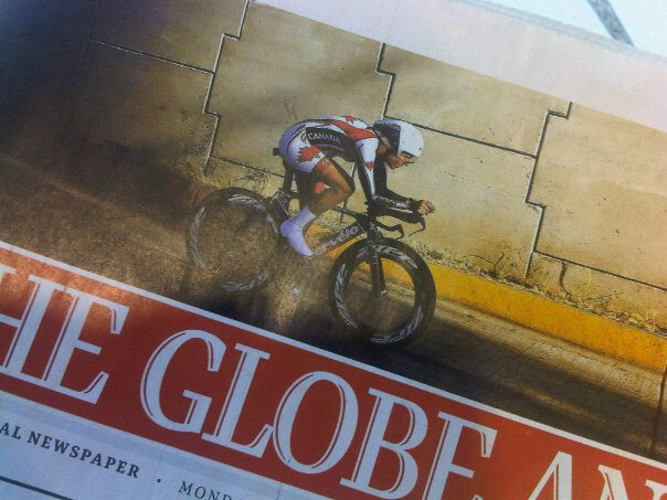 Dr Vie Laura Brown Bronze Pan American Time Trial Cycling Champsionships 2011 Globe Mail