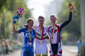 Dr Vie Laura Brown Bronze Pan American Time Trial Cycling Champsionships 2011 Mexico