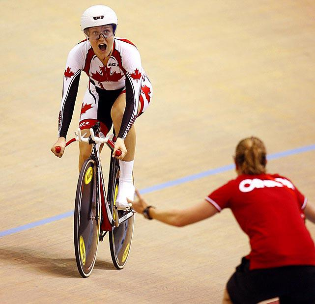 Dr Vie Steph Roorda Pan Am 2011 Mexico sets new record
