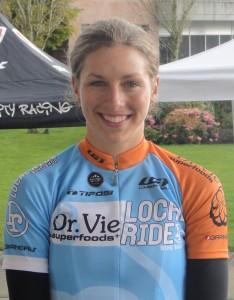 Jenny Lehmann Dr. Vie cyclist 2012 Canadian womens team