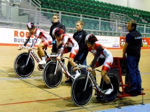 Dr. Vie Canadian athletes training in Wales Newport for London World Cup Jasmine Glaesser Laura Brown Tara Whitten