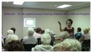 Dr. Vie-SuperConscious-Training-Diabetes-Hillcrest Hospital-Africa
