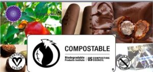 Dr. Vie Superfoods biodegradable compostable packaging