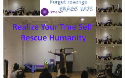 Forget Revenge, Erase Hatred, Rescue Humanity with Dr. Vie