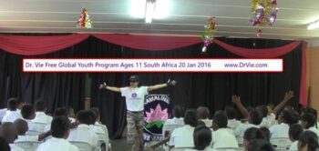 Dr. Vie Free Power Of Youth program in schools Jan, 2016