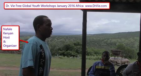 Dr. Vie Free Global Youth Workshops Africa, January 2016