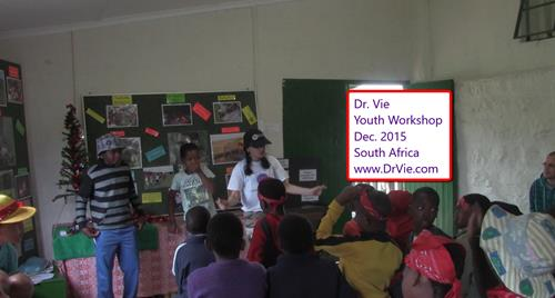 Dr. Vie Free Youth Workshops Africa