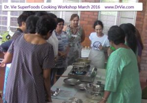 SuperFoods Workshop with Dr. Vie