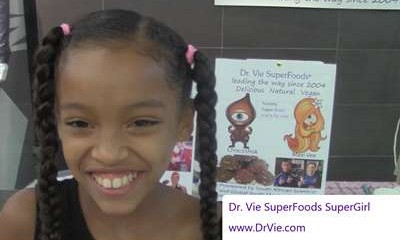 Dr. Vie SuperFoods with SuperGirl