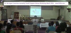 Dr. Vie SuperConscious Youth Program March 2016 South Africa