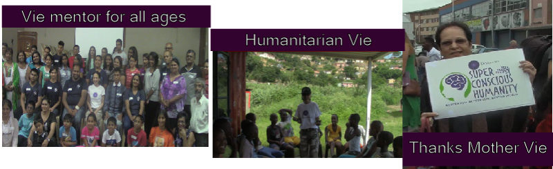 Dr. Vie Mentor, Humanitarian, Role Model
