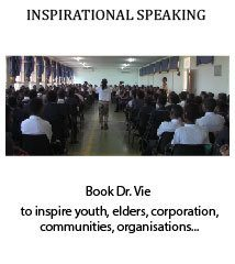 Dr. Vie Inspirational Speaker for all ages