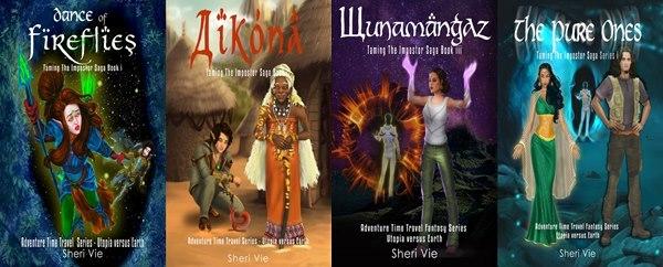 Time Travel adventure fantasy series for children