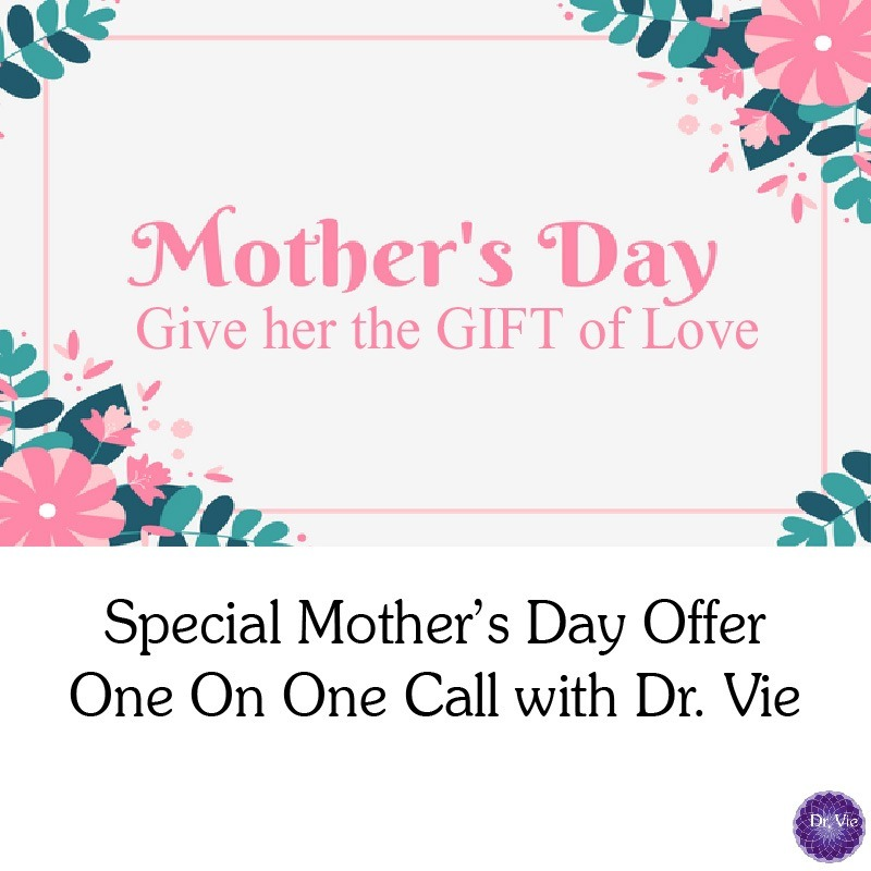 Best Mother's Day Gift Idea Discount coupon life coaching call for moms