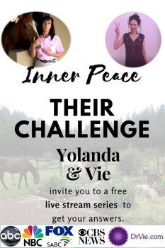 Inner peace challenge with two women, one with brain tumor, the other a nomad.