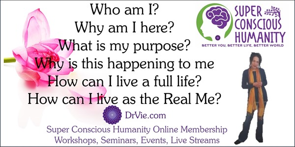 Dr Vie Super Conscious programs events education