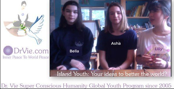 Super Conscious Youth Initiative For A Better World with Dr. Vie