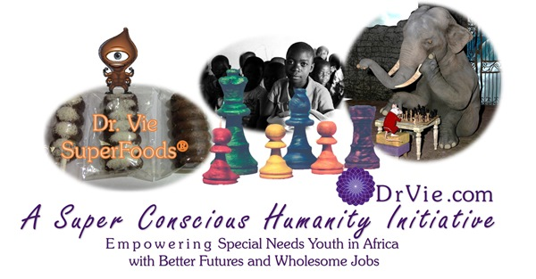 What does superfoods and chess have in common for the youth of Africa?