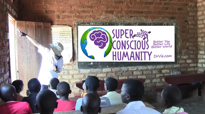 Genetically modified humans versus super conscious humanity in Africa